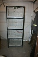 4 TIER BREEDING CAGES WITH STAND