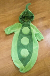 0-6 Month Pea in the Pod Halloween Costume London Ontario image 1