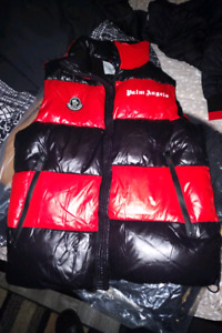 ***EXCLUSIVE MONCLER X PALM ANGELS GENIUS 2 TONE VEST SIZE M****