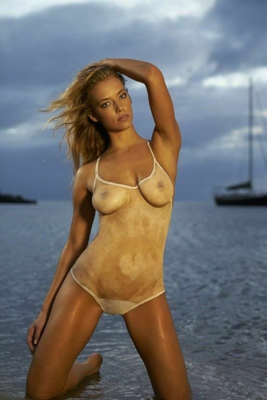 Hannah Ferguson Sexy Body Paint 8x10 Picture Celebrity Print