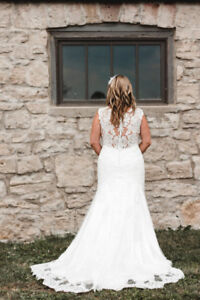 Wedding Dress By Maggie Sottero  - Used/ Dry Cleaned