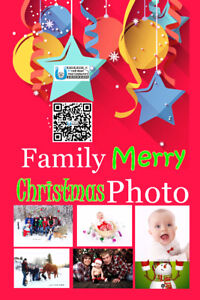 Family Christmas Photos - U Red Deer Photography-Only $39
