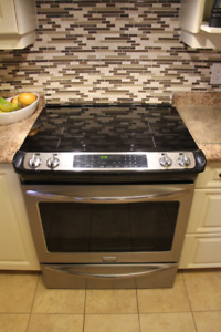 Frigidaire Induction Stainless Slide-in range