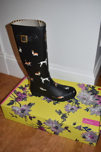 Joules Rain Boots - Women's Size 5 and 9