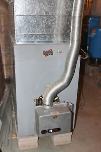 Oil Heating System – Furnace, Roth Tank, Ductwork, and Piping