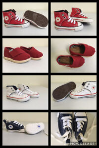 Brand New Kids Shoes!!!! Converse & TOMS