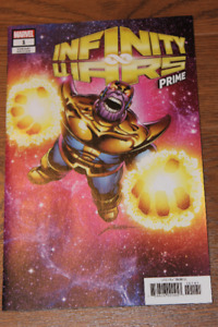Infinity Wars Prime #1 Perez Variant 1st Requiem Appearance