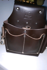Electician leather pouch