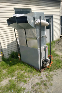 Oil furnace  heater and holding tank