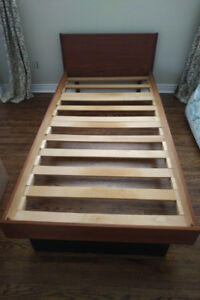 Twin bed frame - Solid Wood