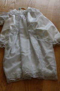 Christening Gown/Cape/Hat - NEVER WORN
