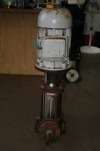 USED  GRUNDFOS PUMP  TYPE:CR4-80