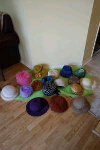 17 VINTAGE & ANTIQUE HATS **  See EACH PRICE ***