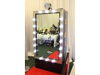 **Magic Mirror/Selfie mirror/ Photobooth/Photo booth hire from £309 London, Kent, Herts, Essex, **