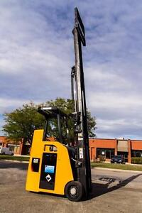 2007 CATERPILLAR DOCK STACKER FORKLIFT 3500LB CAPACITY