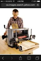 Wanted wood planer