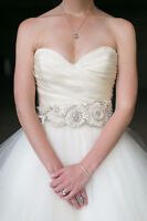 Lazaro Wedding Gown Size 6