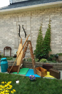 Antique Crates, Ladder, Suitcases And More **SEE EACH PRICE**