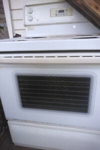 Whirlpool frig and stove for sale