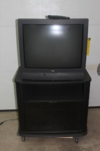 """Free 27"""" ProScan TV and Swivel stand($40)"""