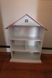 Large Doll House (approx 3x3 ft) also works as a storage