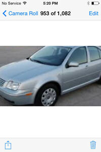 CHEAP DEPENDABLE CAR , TRADE FOR MOTORCYCLE , 04 JETTA.   $1000