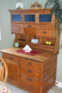 Antique Hoosier Cabinet - Reduced for Quick Sale