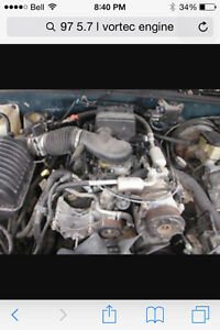 5.7 vortec from a 96-99 chev gmc 4 bolt
