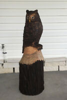 Chainsaw Carving Workshop - Horned Owl