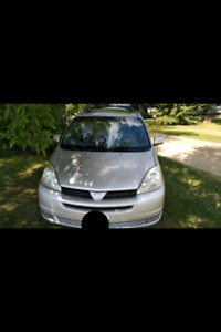 2004 Toyota Sienna XLE with winter rims/tires for extra $700.