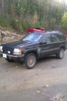 1994 Jeep Grand Cherokee limited edition (parts)