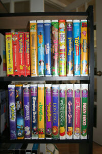 VHS MOVIES, DISNEY, VARIOUS