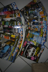 Variety of VW bus and camper magazines from UK