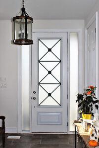 Stylish & Elegant Glass Door Inserts