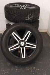 "4 mags 20"" Mercedes Original pour GL, GLS, ML. GLE / Vaut 5900$"