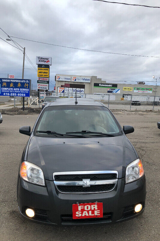 2010 Chevy Aveo Lt 5 Speed Manual Fully Loaded Saftey E Test Rof