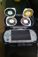 Sony PsP 3000 series w/ 5 Games Included