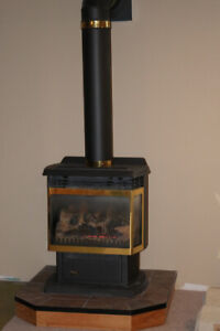 Vermont Castings freestanding Gas Fireplace