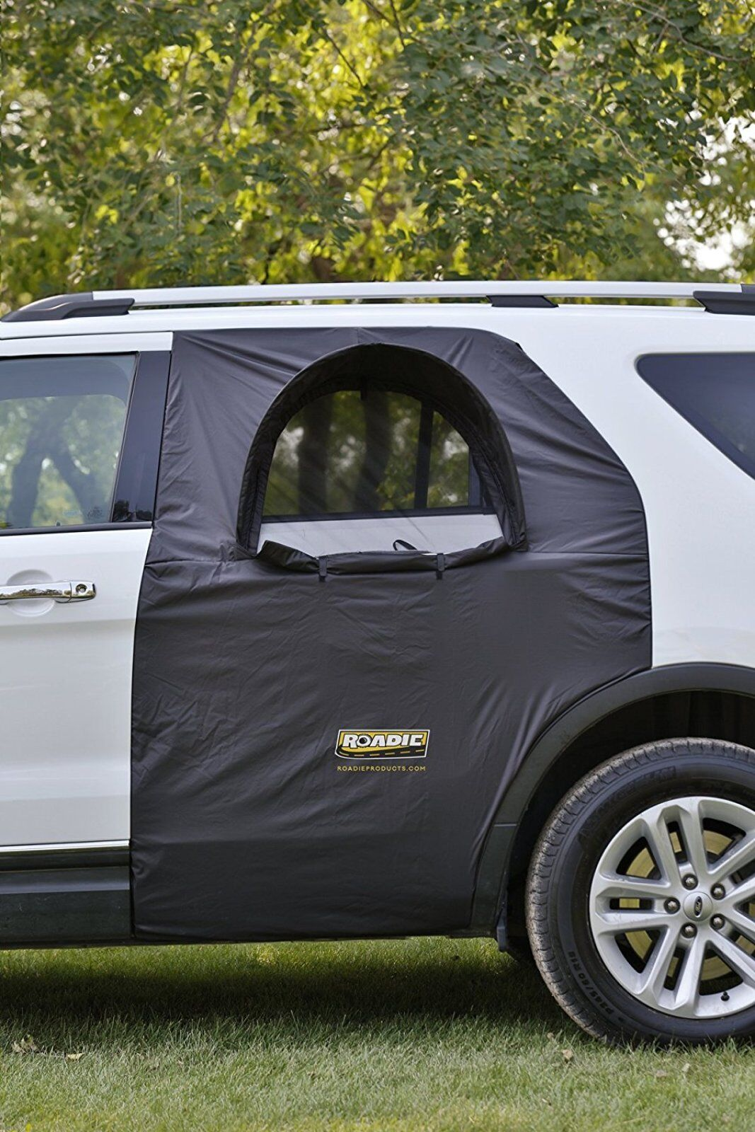 car tent retractable canopy camping hiking outdoor window. Black Bedroom Furniture Sets. Home Design Ideas