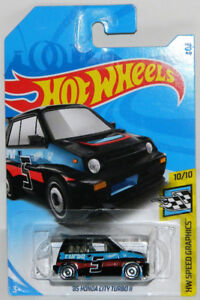 Hot Wheels 1/64 '85 Honda City Turbo II Diecast Car