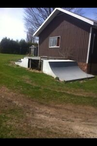 Hey I have a full half pipe for sale