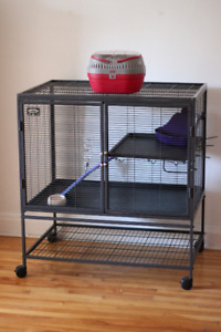 Cage for pet rat or other small critter