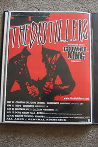 The Distillers Tour Poster