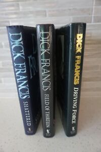 3 HARD COVER DICK FRANCIS BOOKS WITH JACKETS ~$4.99 EACH Edmonton Edmonton Area image 1