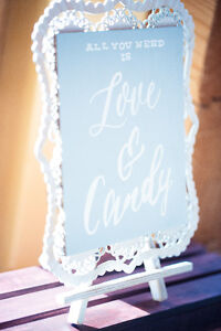 Love + Candy sign