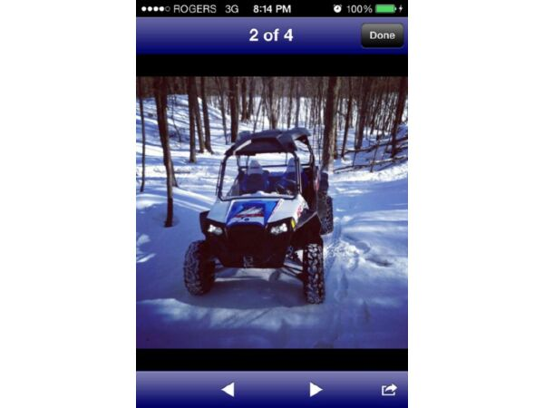 Used 2012 Polaris Razor 900