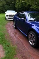 Mustang - Parts or Repair - Cobra Rims, 8.8 rear with 3.55 gears