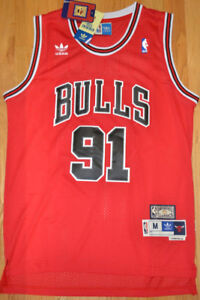 NEW w tags. Dennis RODMAN All Embroidered Jersey'>
