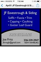 JF EAVESTROUGH & SIDING