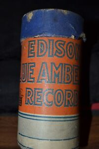 EDISON BLUE AMBEROL RECORD- PRICE REDUCED